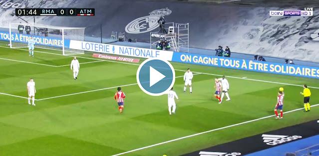 Real Madrid vs Atlético Madrid Live Score