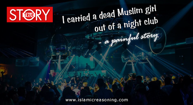 STORY: I carried a dead Muslim girl out of a night club - a painful story