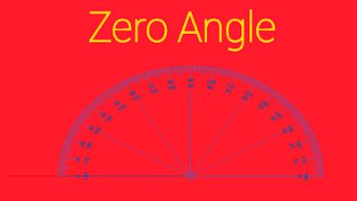 Zero angle