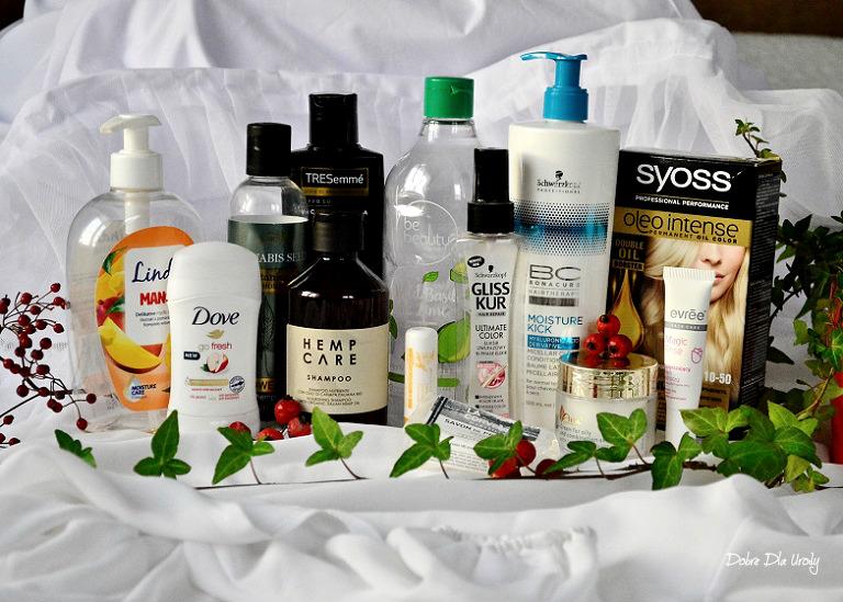 Kosmetyczne zużycia Października - DENKO w mini recenzjach