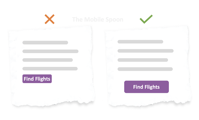 Triple the white spaces. The all-in-one guide to high-converting CTA buttons
