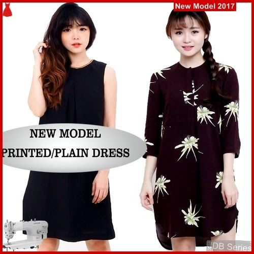 JDB056 FASHION Dress Hm Perempuan Print BMGShop