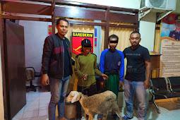 Dua Pelaku Pemerasan Dengan Ancaman Berhasil Diamankan Anggota Polsek Dukun