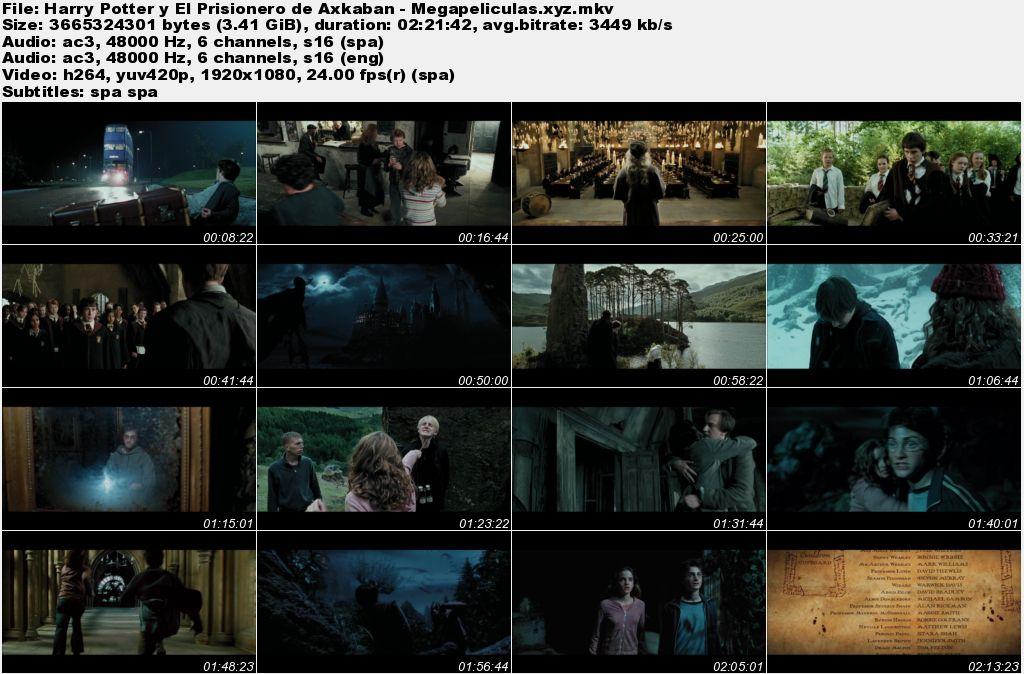 capturas pelicula Harry Potter y El Prisionero de Azkaban latino