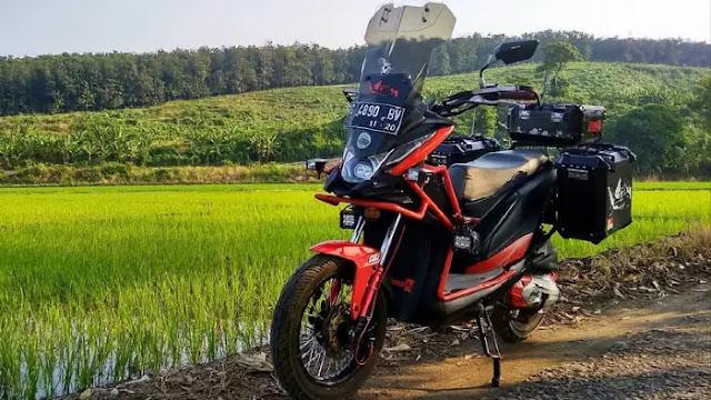 Menggunakan Motor Matic Untuk Perjalanan Jauh