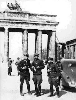 Polish soldiers in Berlin May 1945