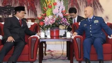 Viral Menhan Prabowo Ditekan Harus Beli Pesawat Tempur China