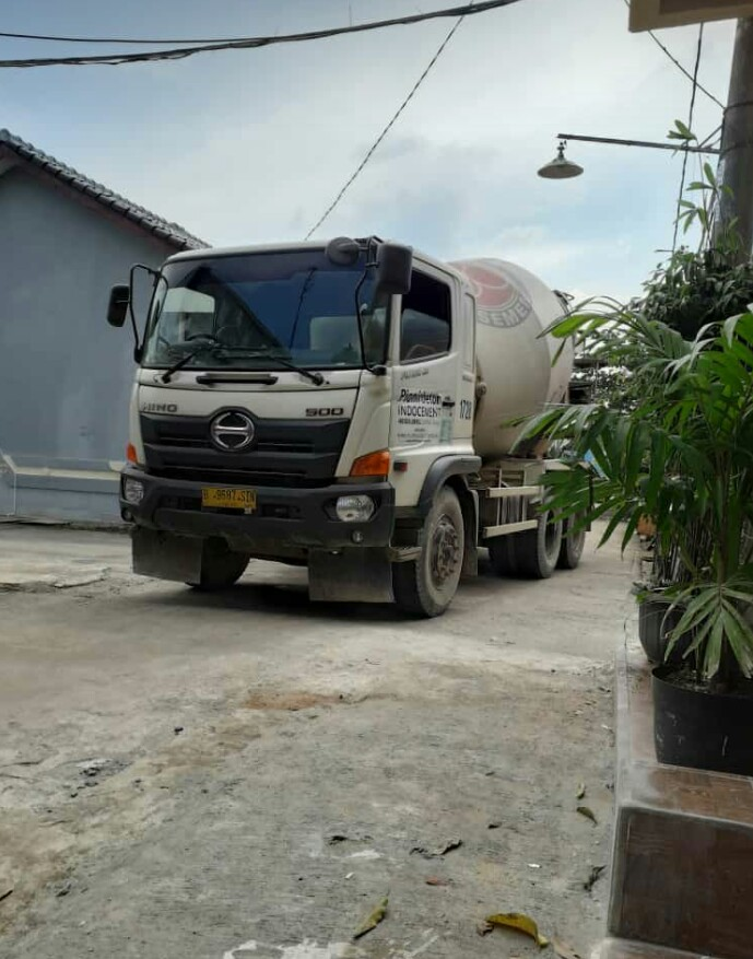 harga readymix pionir / beton cor dan sewa pompa beton