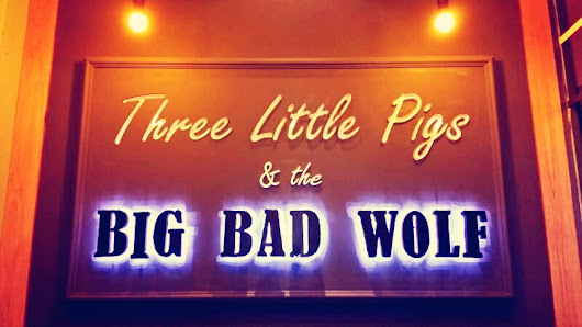 Passion: #Food Review : Three Little Pigs & the Big Bad Wolf