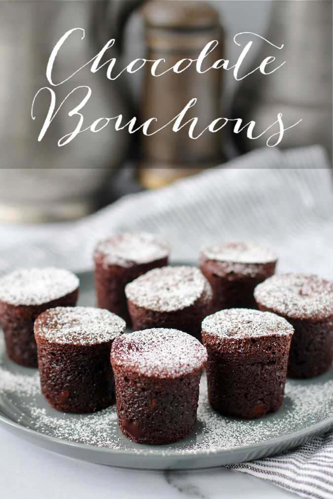 Chocolate Bouchons from Thomas Keller