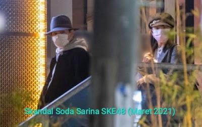 ini skandal soda sarina ske48 tomioka kento
