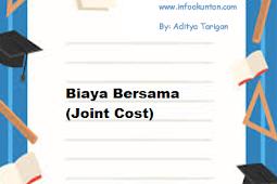Biaya Bersama (Joint Cost)