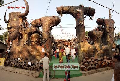Durga Puja Pandel Pictures