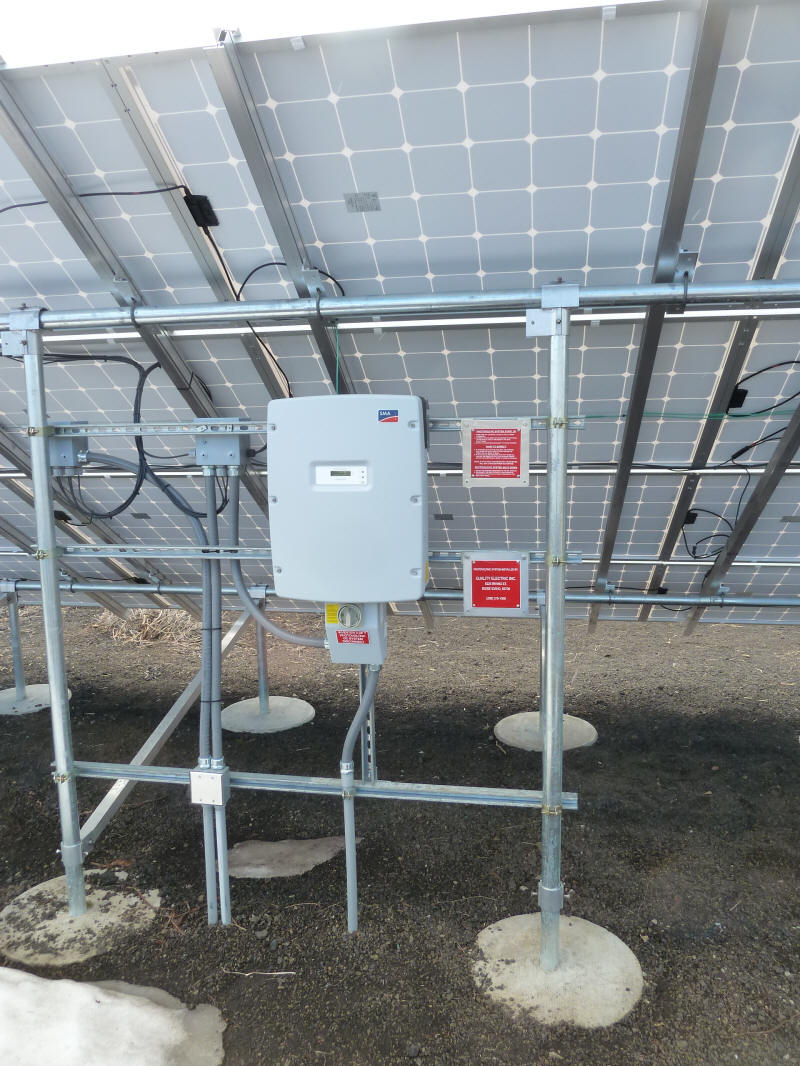 Build It Solar Blog Detailed Pictures Of Grid Tied Pv