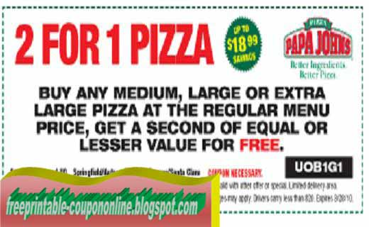 Kt's pizza coupons