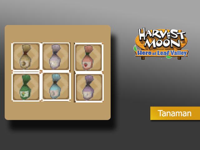 Tanaman - Harvest Moon Hero of Leaf Valley