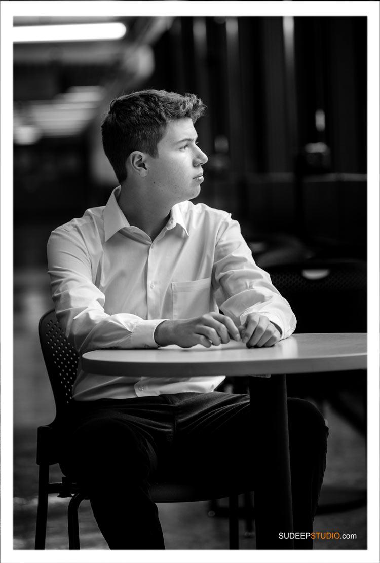 Pioneer High School Senior Pictures for Guys by SudeepStudio.com Ann Arb