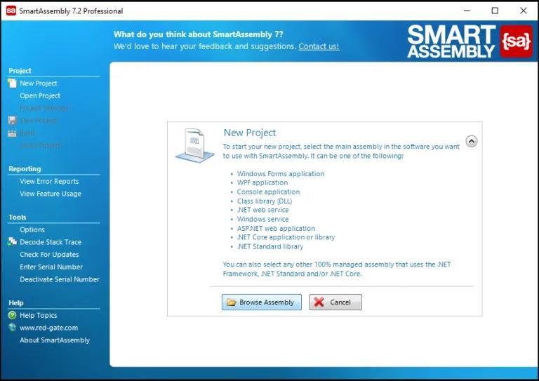 تحميل أفضل أداة لحماية تطبيقك من الهندسة العكسية أو التعديل عليه RedGate SmartAssembly 7.2.1.2972