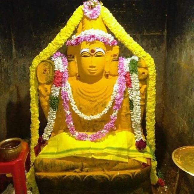 Lord Brahma At Brahmapureeswarar Temple
