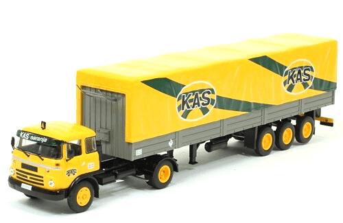 coleccion camiones articulados, camiones articulados 1:43, Barreiros Super Azor camiones articulados