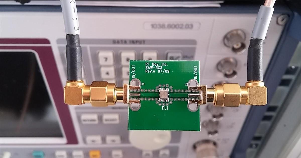 Adams bag full of RF junk: FLARM and LoRa FILTER ( 868 Mhz