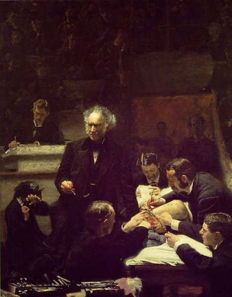 The Gross Clinic, Thomas Eakins, Macabre Art, Macabre Paintings, Horror Paintings, Freak Art, Freak Paintings, Horror Picture, Terror Pictures
