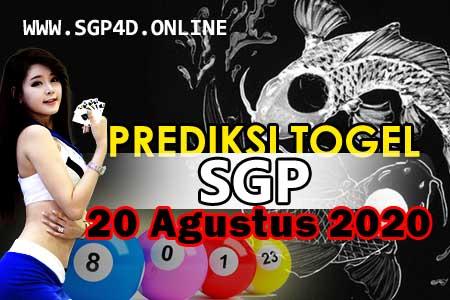 Prediksi Togel SGP 20 Agustus 2020