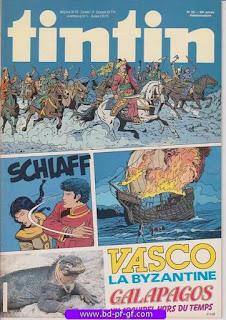 Tintin-numéro 22, année 38, 1983, Vasco