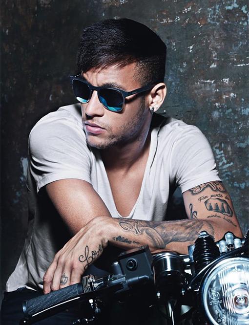 neymar jr, police eyewear, spring 2015, summer 2015