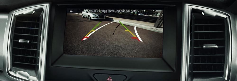 ford ranger wildtrak parking camera and sensors