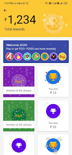 Collect Selfie,Toffee and Disco stamps-2020gpay
