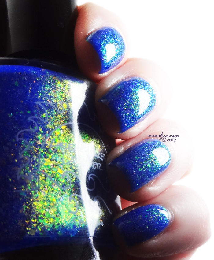 xoxoJen's swatch of Great Lakes Lacquer The Rush Of Brightness