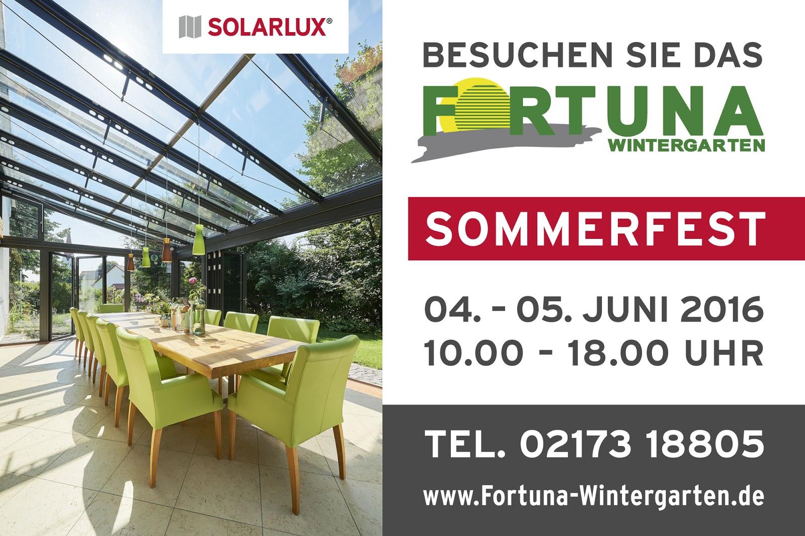 Fortuna Wintergarten reusrather de fortuna wintergarten veranstaltet 23 sommerfest mit