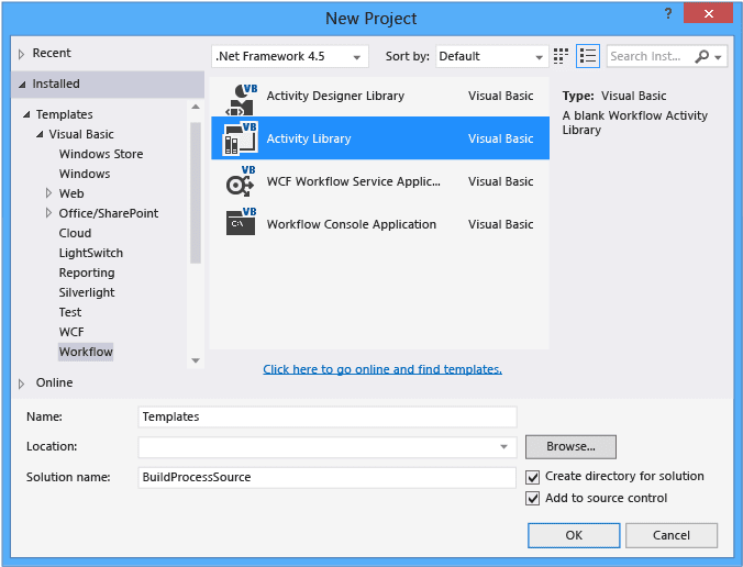 Sameer S Arena Customize Tfs Xaml Build Template To Create A Bug Wi