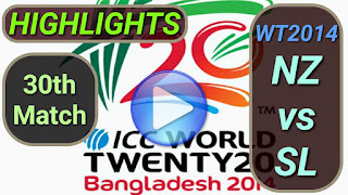 NZ vs SL 30th Match