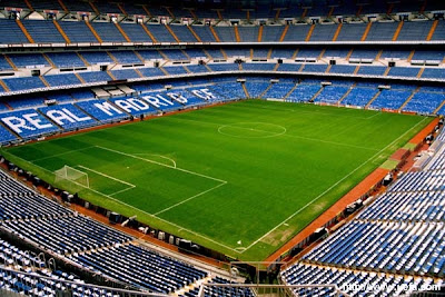 top stadium in the world.: Santiago Bernabéu