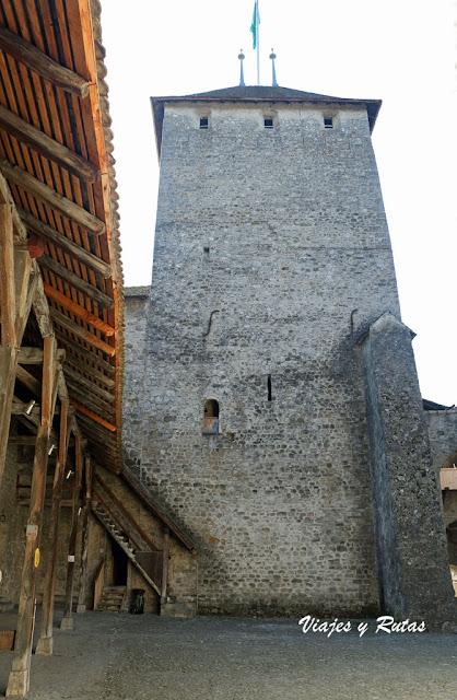 Torre del Homenaje de Castillo de Chillon