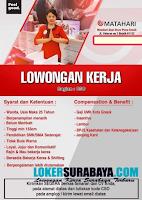 Lowongan Kerja Surabaya Terbaru di Matahari Dept Store Plaza Gresik Nopember 2019
