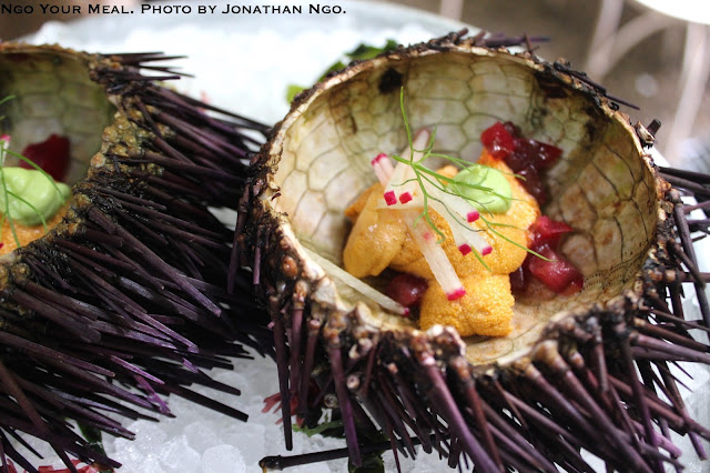 Sea Urchin at Maison Premiere