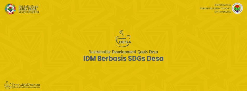 Surat Menteri Desa tentang IDM Berbasis SDGs Desa