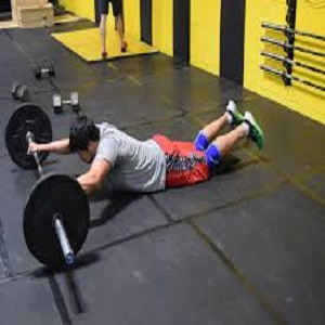 8- Barbell Rollouts: