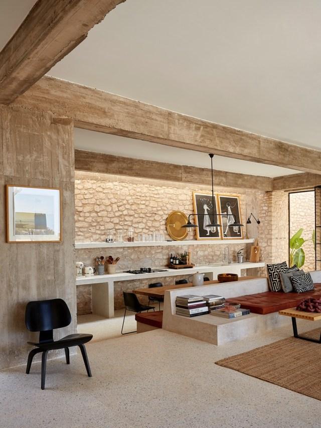 Rustico contemporaneo in una villa da sogno in Marocco