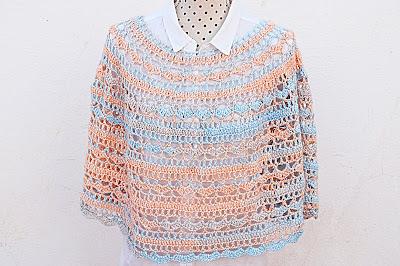 2 - Crochet Imagen Capa o poncho a crochet y ganchillo muy fácil y sencillo por Majovel Crochet
