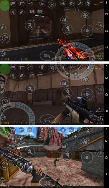 download Mod pack Pointblank untuk CS Android