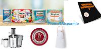Logo ''Inventati Chef con Asciugoni Regina'' e vinci gratis favolosi premi anche votando