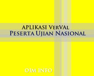Kenali Aplikasi VerVal Calon Peserta Ujian Nasional Madrasah TP 2015/2016