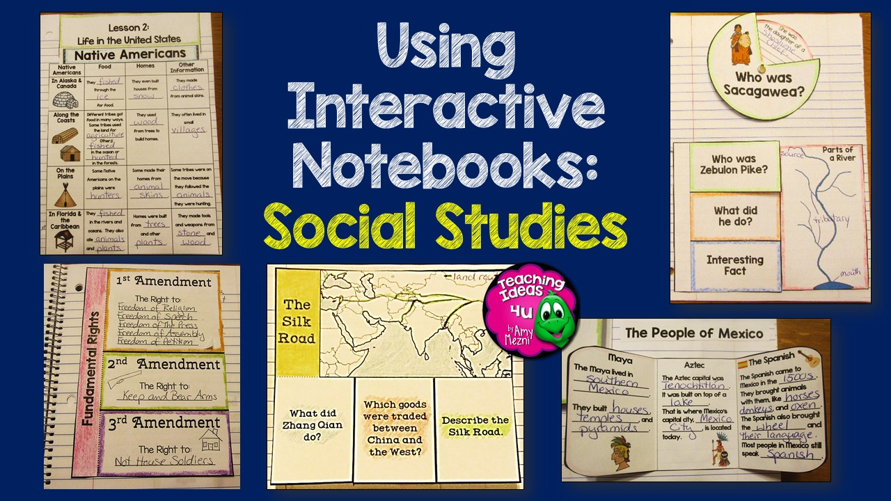 How to Use Interactive Notebooks in Social Studies ...