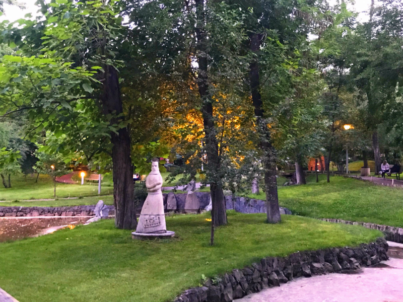 Visit Lovers' Park on your trip to Yerevan, Armenia