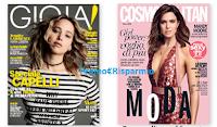 Logo Ritira gratis in edicola la copia delle riviste GIOIA e Cosmopolitan