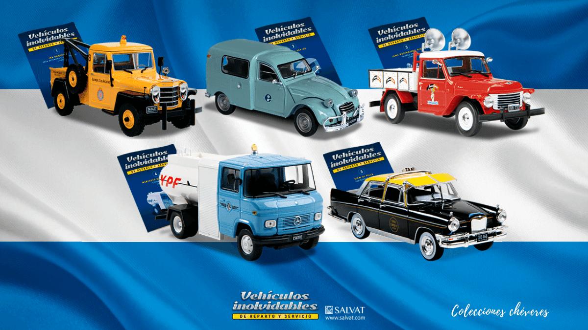 coleccion vehiculos inolvidables de reparto y servicio salvat